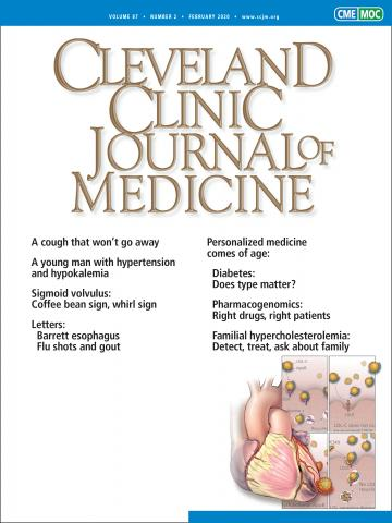 Cleveland Clinic Journal of Medicine: 87 (2)