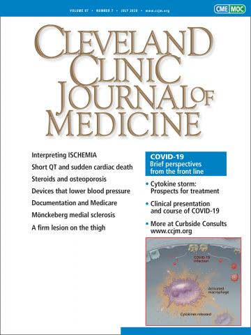 Cleveland Clinic Journal of Medicine: 87 (7)
