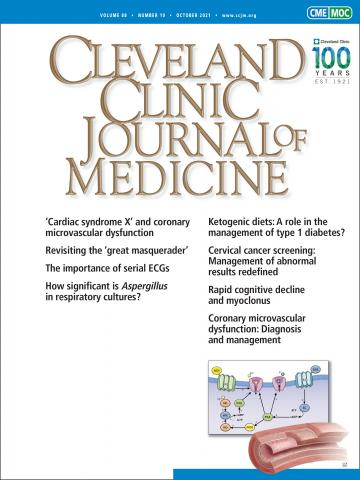 Cleveland Clinic Journal of Medicine: 88 (10)
