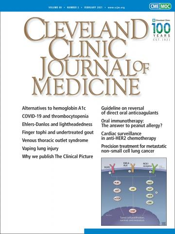 Cleveland Clinic Journal of Medicine: 88 (2)