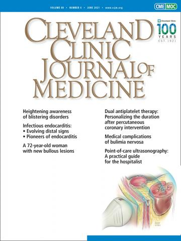 Cleveland Clinic Journal of Medicine: 88 (6)