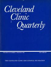 Cleveland Clinic Journal of Medicine: 50 (4)