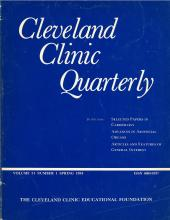 Cleveland Clinic Journal of Medicine: 51 (1)