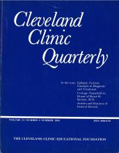 Cleveland Clinic Journal of Medicine: 51 (2)
