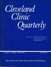 Cleveland Clinic Journal of Medicine: 52 (1)