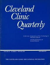 Cleveland Clinic Journal of Medicine: 52 (4)