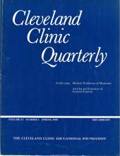 Cleveland Clinic Journal of Medicine: 53 (1)