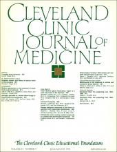 Cleveland Clinic Journal of Medicine: 54 (4)