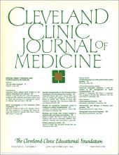 Cleveland Clinic Journal of Medicine: 55 (1)