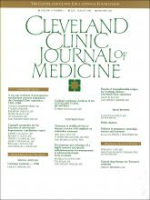 Cleveland Clinic Journal of Medicine: 55 (4)