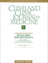 Cleveland Clinic Journal of Medicine: 56 (6 suppl part 2)