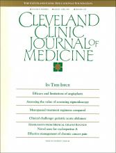 Cleveland Clinic Journal of Medicine: 57 (2)