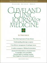Cleveland Clinic Journal of Medicine: 57 (5)
