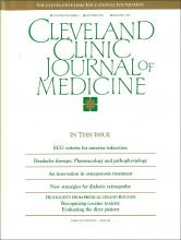 Cleveland Clinic Journal of Medicine: 57 (7)