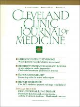 Cleveland Clinic Journal of Medicine: 58 (2)