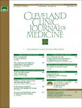 Cleveland Clinic Journal of Medicine: 62 (5)