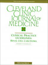 Cleveland Clinic Journal of Medicine: 64 (5 suppl 1)