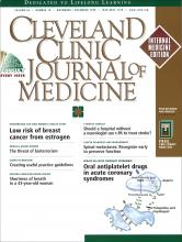 Cleveland Clinic Journal of Medicine: 66 (10)