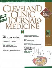 Cleveland Clinic Journal of Medicine: 66 (3)
