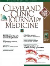 Cleveland Clinic Journal of Medicine: 66 (9)