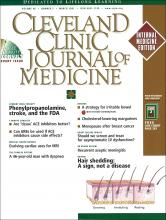 Cleveland Clinic Journal of Medicine: 68 (3)