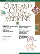 Cleveland Clinic Journal of Medicine: 69 (8)