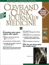 Cleveland Clinic Journal of Medicine: 70 (4)