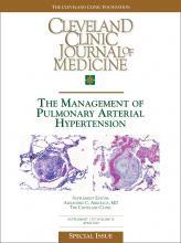 Cleveland Clinic Journal of Medicine: 70 (4 suppl 1)