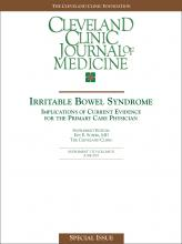 Cleveland Clinic Journal of Medicine: 70 (6 suppl 2)