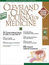 Cleveland Clinic Journal of Medicine: 71 (11)