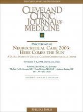 Cleveland Clinic Journal of Medicine: 71 (1 suppl 1)