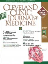Cleveland Clinic Journal of Medicine: 71 (6)