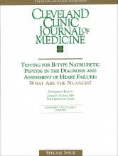 Cleveland Clinic Journal of Medicine: 71 (6 suppl 5)