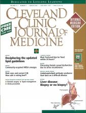 Cleveland Clinic Journal of Medicine: 72 (3)