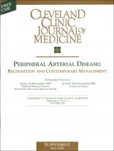 Cleveland Clinic Journal of Medicine: 73 (10 suppl 4)