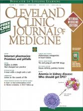 Cleveland Clinic Journal of Medicine: 73 (3)
