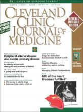 Cleveland Clinic Journal of Medicine: 73 (7)