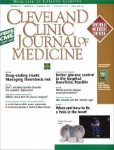 Cleveland Clinic Journal of Medicine: 74 (2)