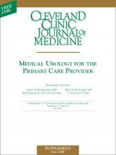 Cleveland Clinic Journal of Medicine: 74 (5 suppl 3)
