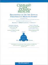 Cleveland Clinic Journal of Medicine: 74 (9 esuppl 1)
