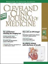 Cleveland Clinic Journal of Medicine: 75 (5)