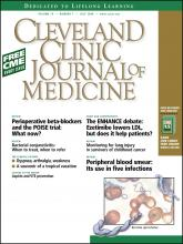 Cleveland Clinic Journal of Medicine: 75 (7)