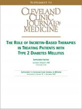 Cleveland Clinic Journal of Medicine: 76 (12 suppl 5)