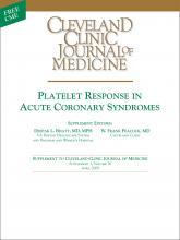 Cleveland Clinic Journal of Medicine: 76 (4 suppl 1)