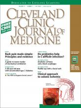 Cleveland Clinic Journal of Medicine: 76 (7)