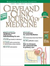 Cleveland Clinic Journal of Medicine: 78 (3)