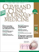 Cleveland Clinic Journal of Medicine: 78 (6)