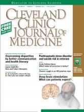 Cleveland Clinic Journal of Medicine: 79 (2)