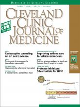 Cleveland Clinic Journal of Medicine: 79 (3)