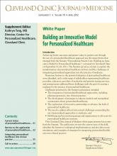 Cleveland Clinic Journal of Medicine: 79 (4 suppl 1)
